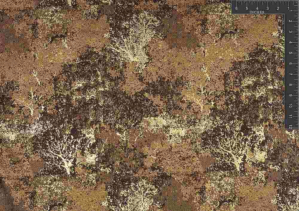 "M1004 / #4 COFFEE / ""FOREST"" 23% LUREX 77% POLYESTER"