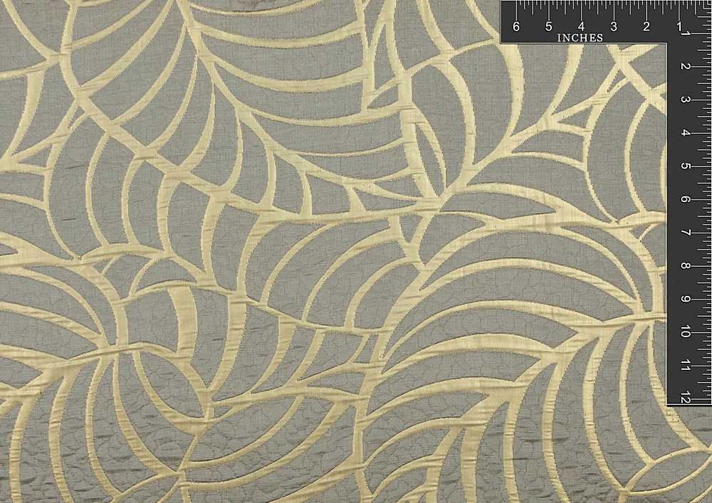 "M1063 / GOLDEN / ""AMAZON LEAF"" 100% POLYESTER"