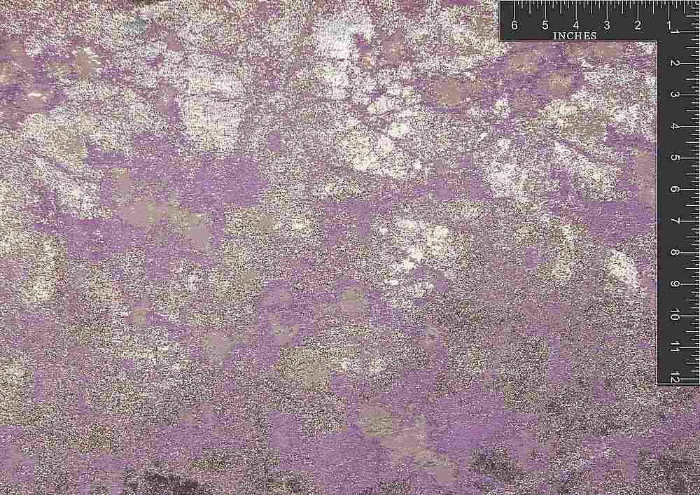 "M1064 / LILAC SPARK / ""MARBLE ELECTRIC"" 100% POLYESTER"