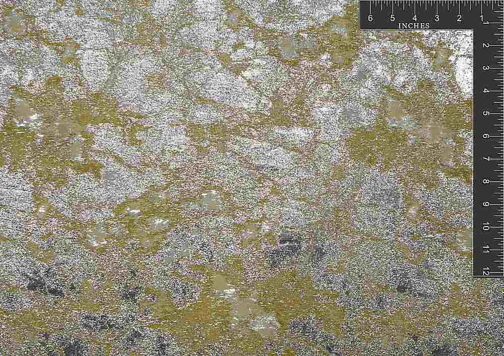 "M1064 / YELLOW VOLT / ""MARBLE ELECTRIC"" 100% POLYESTER"