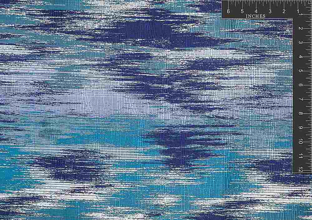 "M1066 / CARIBBEAN / ""WATERFALL"" 100% POLYESTER"