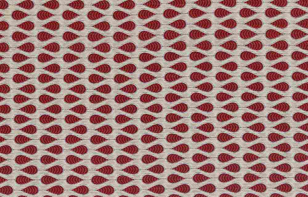 "M1074 / CHILI / ""TAZA"" 100% POLYESTER JACQUARD WITH METALLIC"