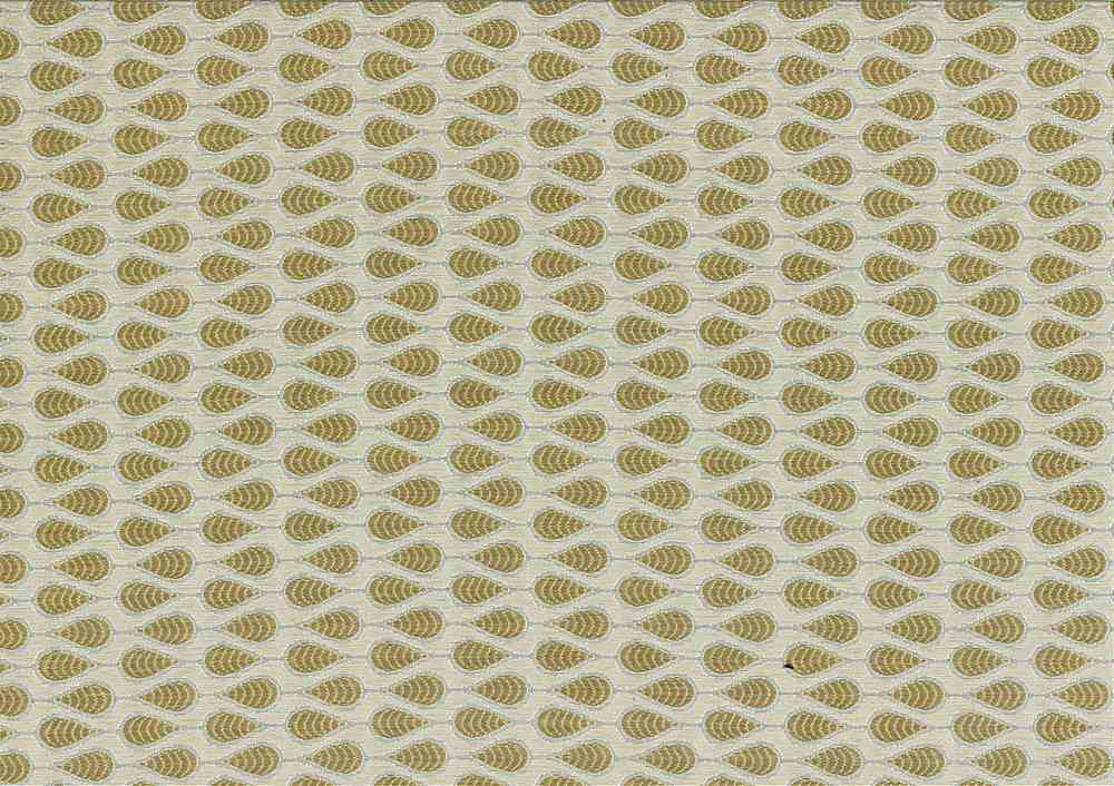"M1074 / SESAME / ""TAZA"" 100% POLYESTER JACQUARD WITH METALLIC"