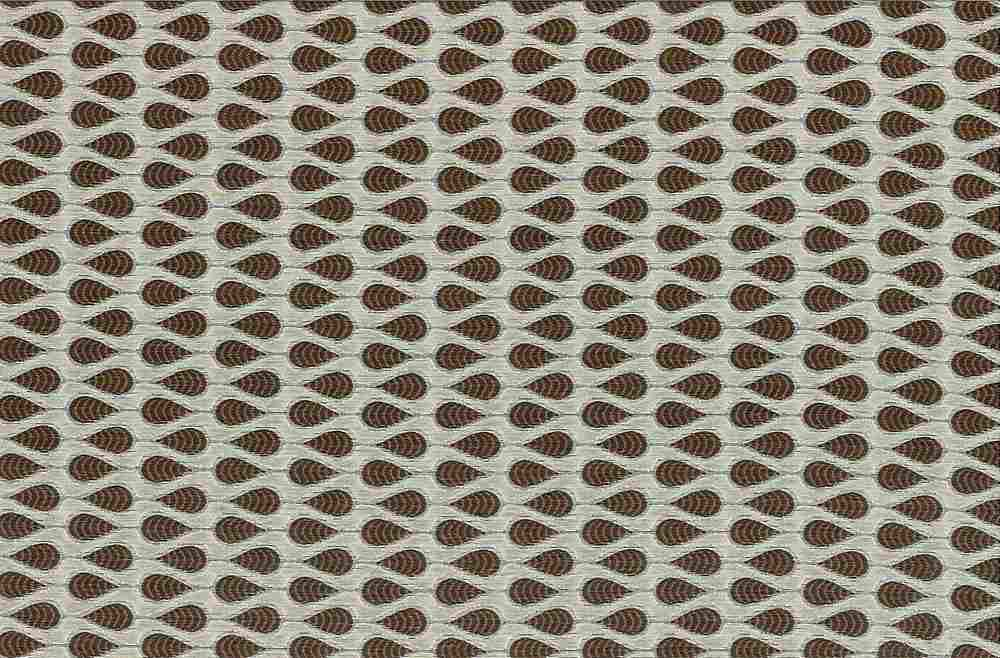 "M1074 / POPPYSEED / ""TAZA"" 100% POLYESTER JACQUARD WITH METALLIC"