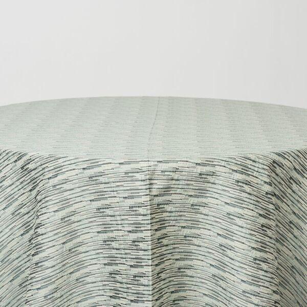 "NOV/031 / SEAFOAM / ""Slubs"" 91% Polyester 9% Cotton"