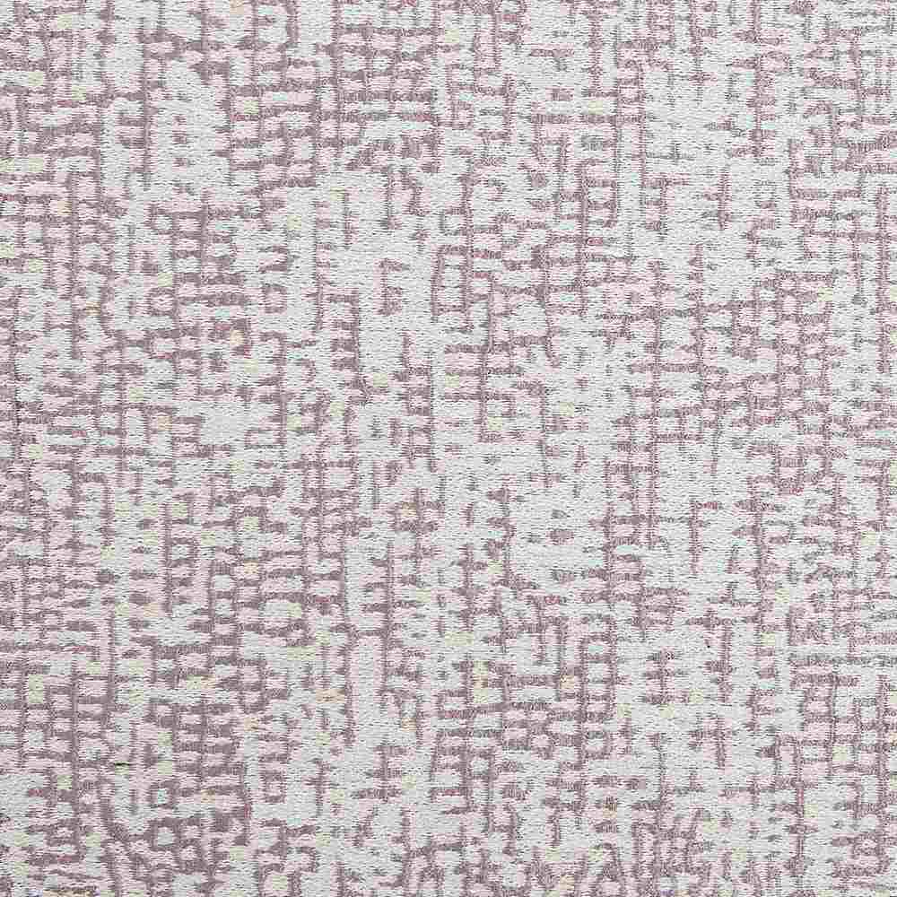 NOV/033 LAVENDER RESIDENTIAL GRADE JACQUARD WOVEN NOVELTIES PURPLE POLYESTER 100% DOUBLE WIDTH OVER GEOMETRIC PILLOW EVENT DECORATIVE DRAPERY ABSTRACT