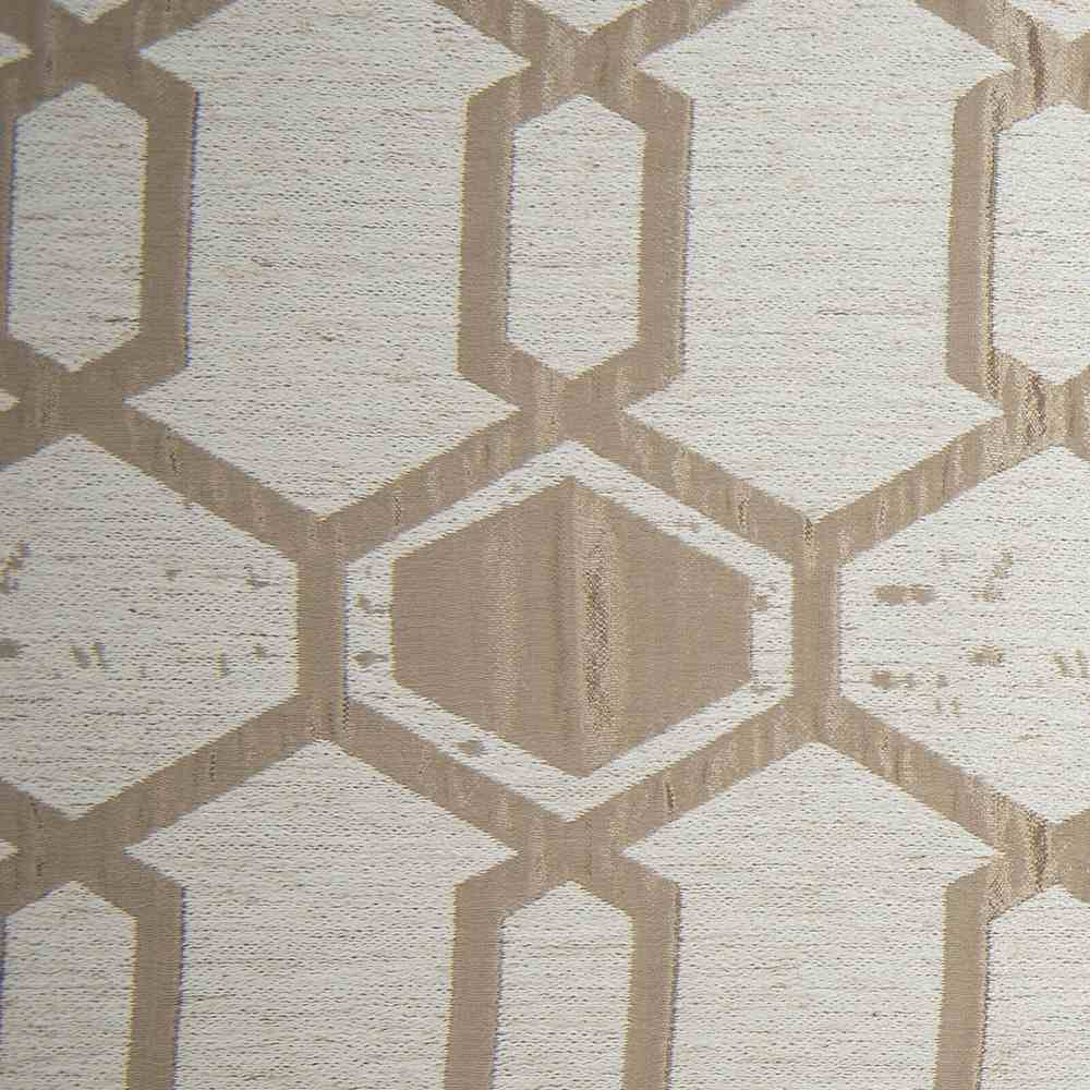 """NOV/034 / TAUPE / """"Hex"""" 93% Polyester 7% Linen"""