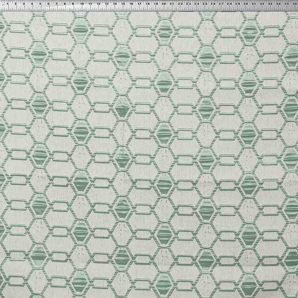 "NOV/034 / BEIGE / ""Hex"" 93% Polyester 7% Linen"
