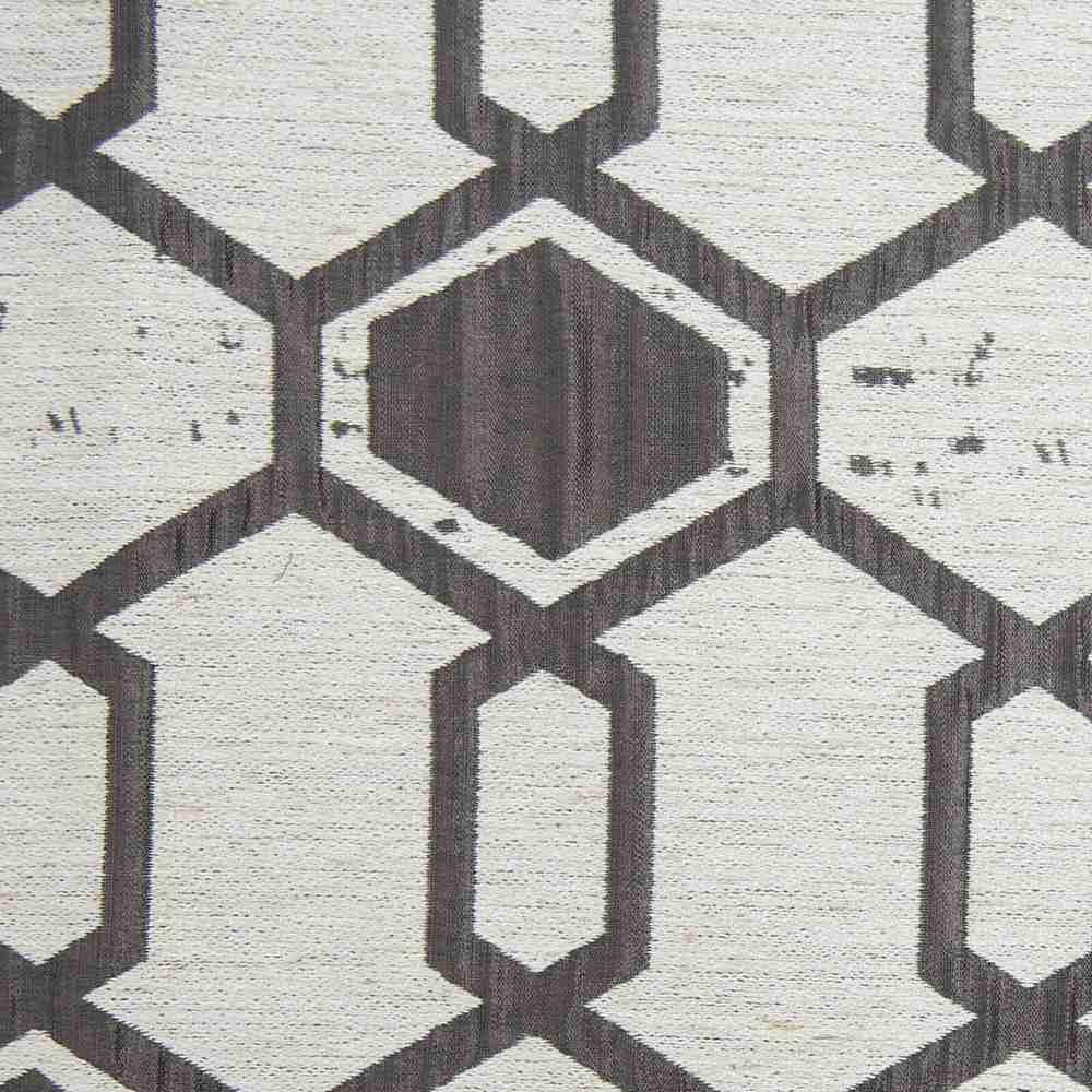 """NOV/034 / COAL / """"Hex"""" 93% Polyester 7% Linen"""