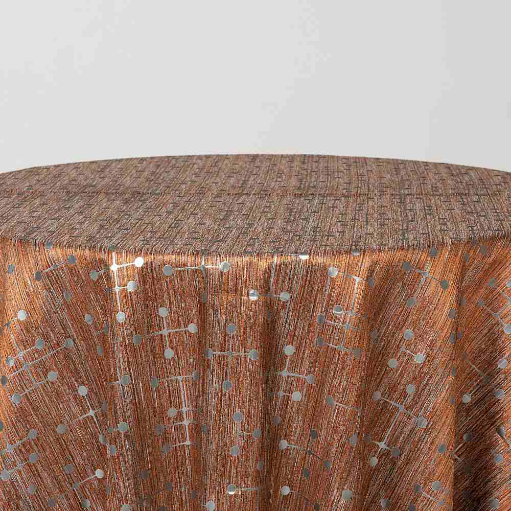 "M1085 / COPPER / ""Morse"" 80%POLYESTER 20%LUREX"