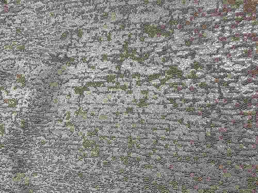 """NOV/043 / GINGER / """"Pine Bark"""" 100% Polyester Woven Jacquard"""