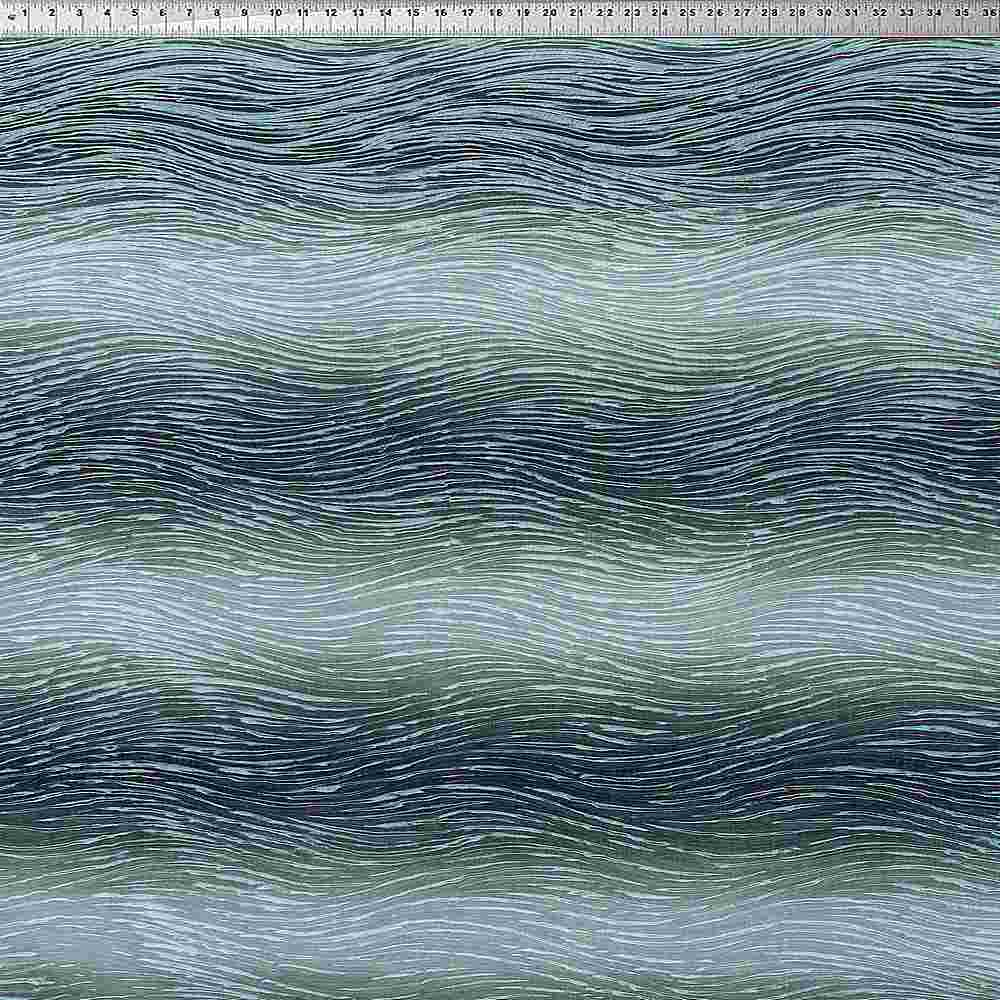 "NOV/044 / AVOCADO / ""River"" 100% Polyerster Woven Jacquard"