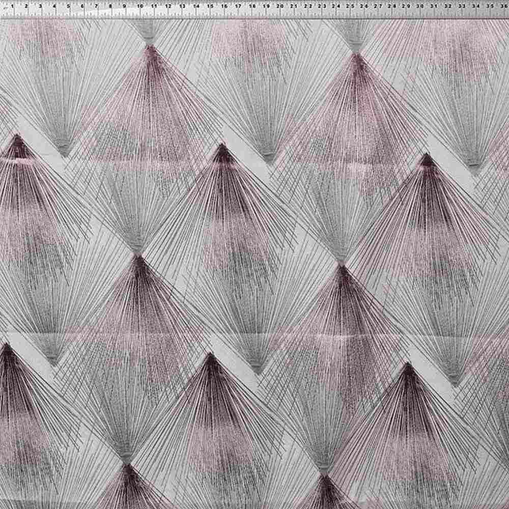 NOV/046 PINK RESIDENTIAL GRADE JACQUARD WOVEN METALLICS NOVELTIES PINK POLYESTER 100% DOUBLE WIDTH OVER MODERN/CONTEMPORARY GEOMETRIC BEDDING PILLOW EVENT DECORATIVE DRAPERY ABSTRACT PROMO