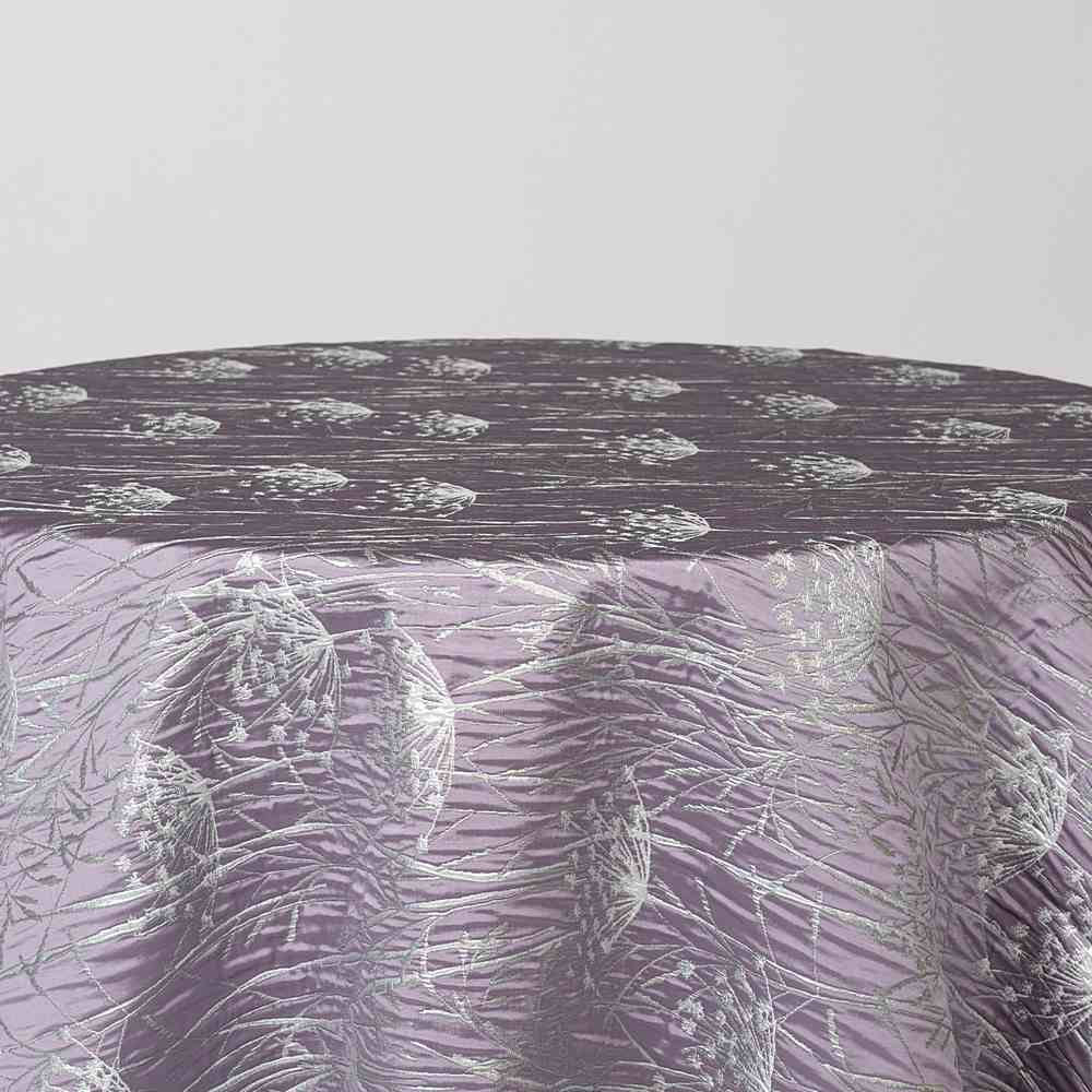 """M1104 / LILAC / """"WILD CARROT"""" 100% POLYESTER WOVEN JACQUARD"""