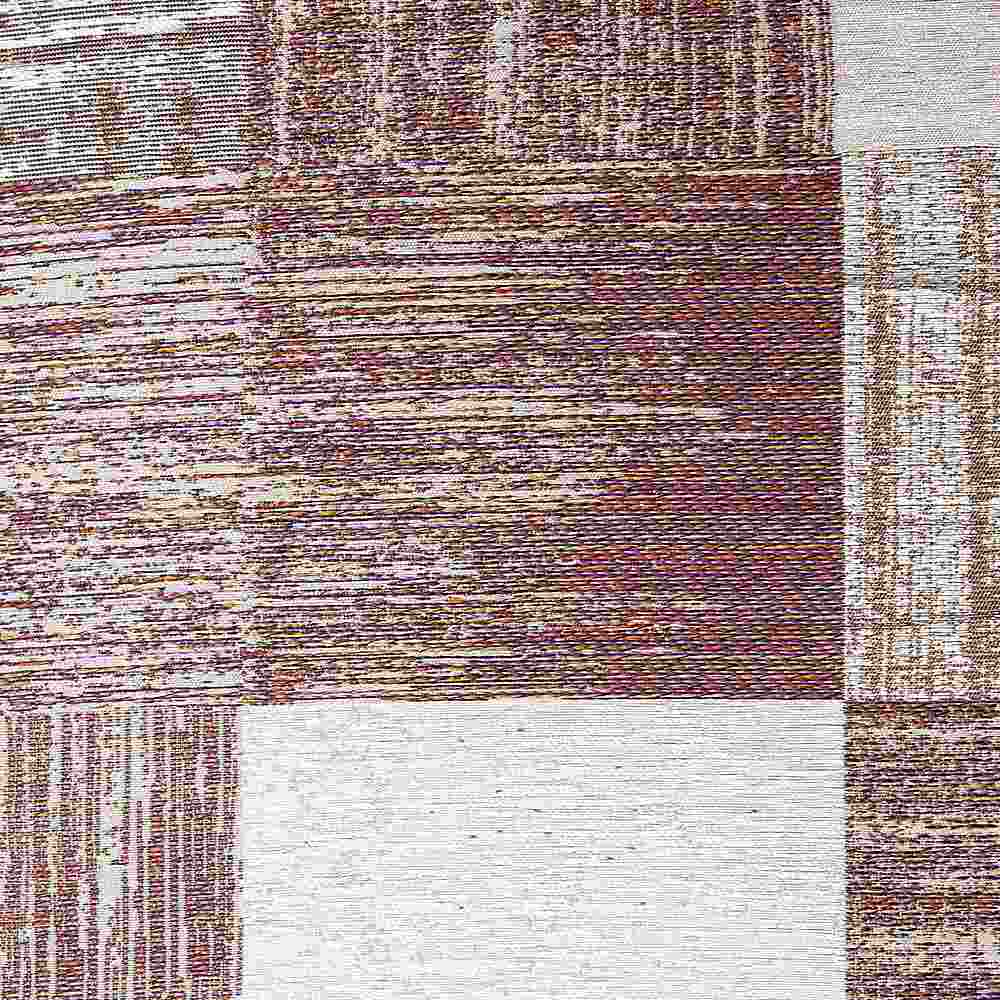 "M1108 / AMETHYST / ""TILES"" 100% POLYERSTER WOVEN JACQUARD"
