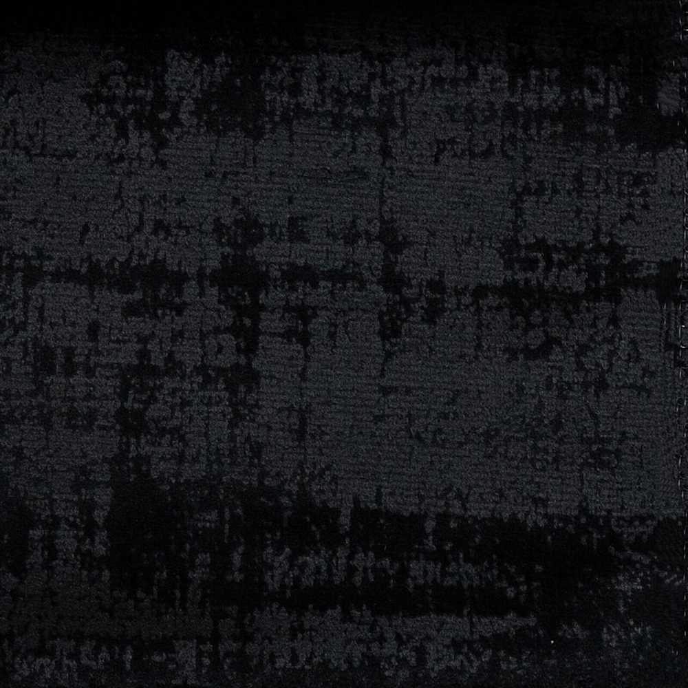 """FRESCO / BLACK / """"FRESCO"""" 100% POLYESTER KNITTED EMBOSSED VELEVT"""