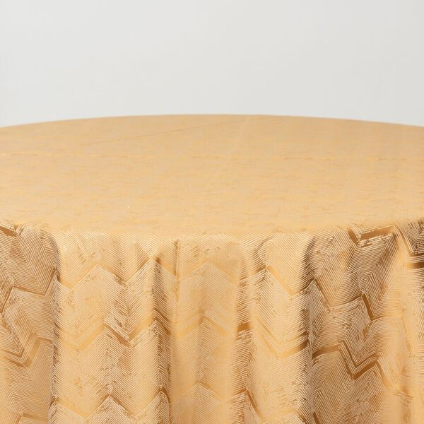 "M1111 / GOLD / ""ZIGZAG"" 100% POLYESTER AND LUREX WOVEN JACQUARD"