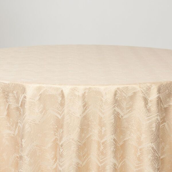 "M1111 / IVORY / ""ZIGZAG"" 100% POLYESTER AND LUREX WOVEN JACQUARD"