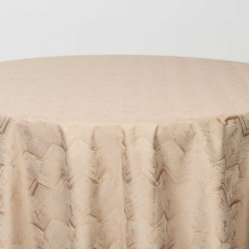 "M1111 / BEIGE / ""ZIGZAG"" 100% POLYESTER AND LUREX WOVEN JACQUARD"