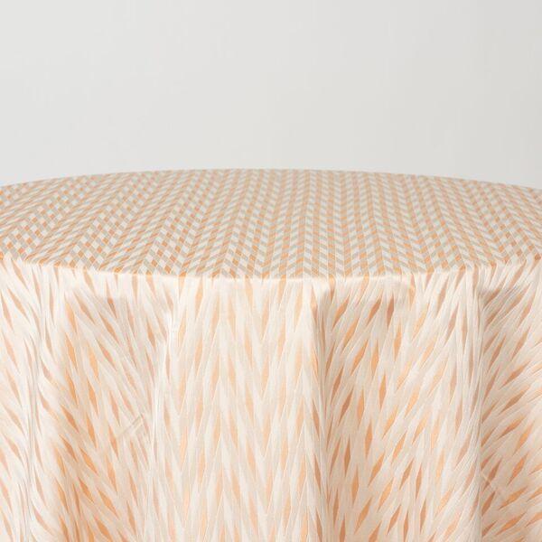 "NOV/049 / COPPER / ""BERMUDA"" 100% Polyester Woven Jacquard """
