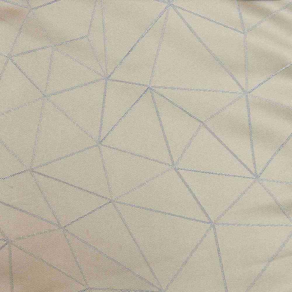 """NOV/049 / CREAM / """"BERMUDA"""" 100% Polyester Woven Jacquard """""""