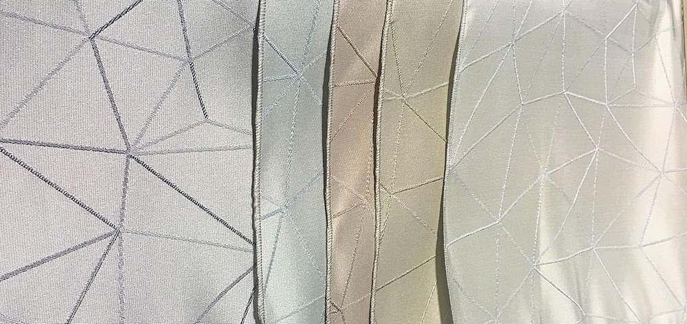 """NOV/049 / 14""""X28"""" HANGER / """"BERMUDA"""" 100% Polyester Woven Jacquard """""""