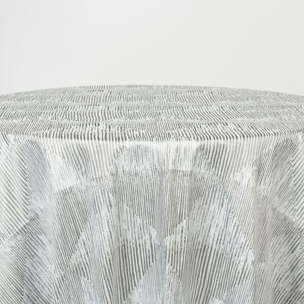 """M1114 / SILVER / """"BARCODE"""" 100% POLYESTER AND LUREX WOVEN JAQCUARD"""