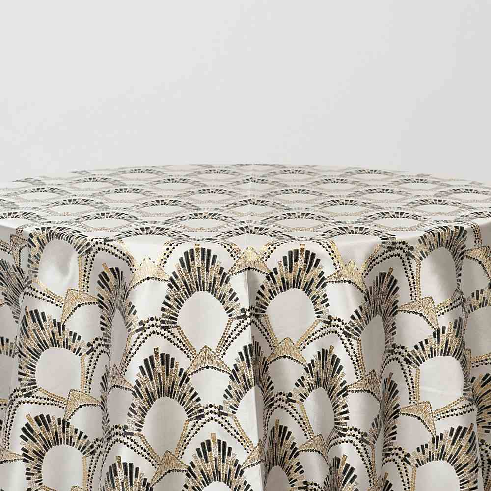 M1116 ONYX RESIDENTIAL GRADE JACQUARD WOVEN METALLICS BLACK OTHERS DOUBLE WIDTH ROLL MODERN/CONTEMPORARY GEOMETRIC ETHNIC BEDDING PILLOW EVENT DECORATIVE DRAPERY