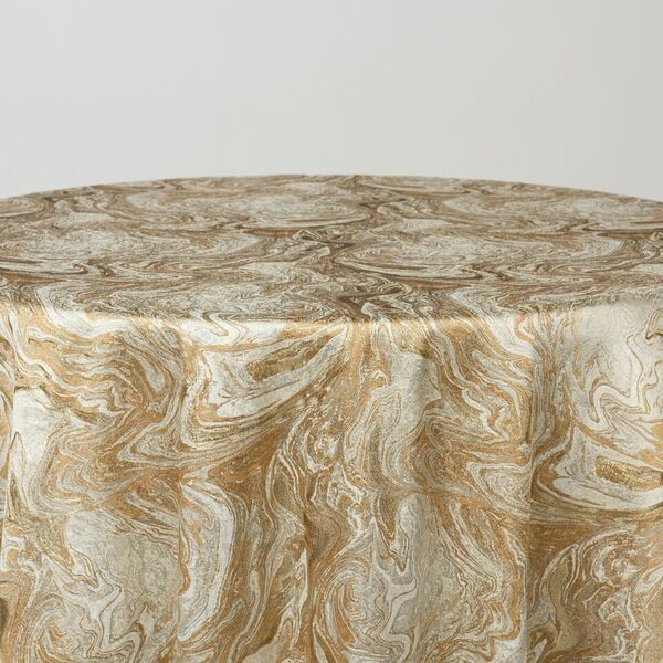 "M1118 / GOLD / ""MARMO"" 100% POLYESTER AND LUREX WOVEN JACQUARD"