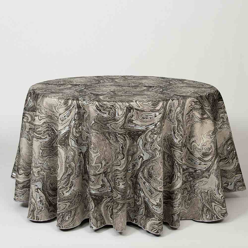 "M1118 / PEWTER / ""MARMO"" 100% POLYESTER AND LUREX WOVEN JACQUARD"