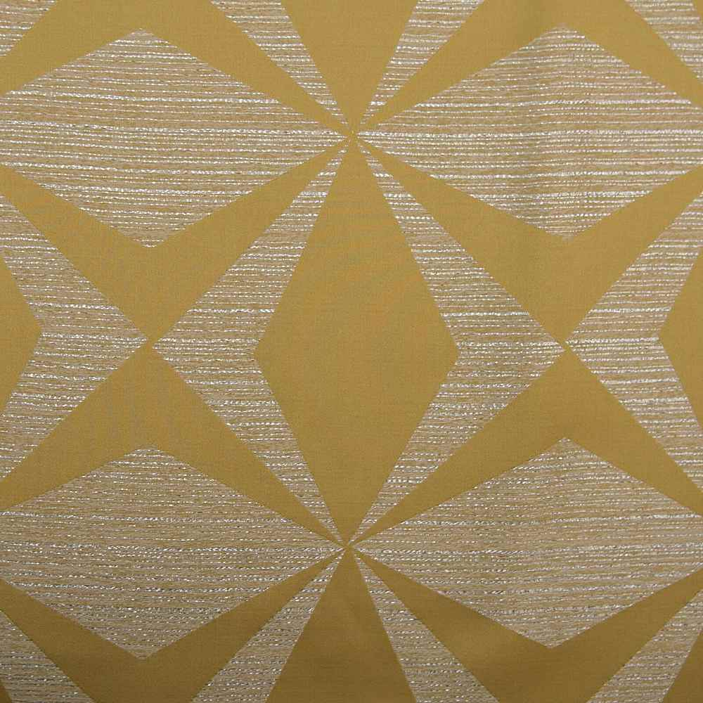 "M1122 / CITRON / ""BOOMERANG"" 100% POLYESTER AND LUREX WOVEN JACQUARD"