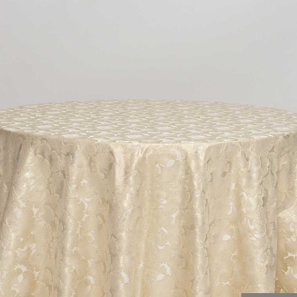 "M1126 / IVORY / ""CARNATION"" 100% POLYESTER AND LUREX WOVEN JACQUARD"
