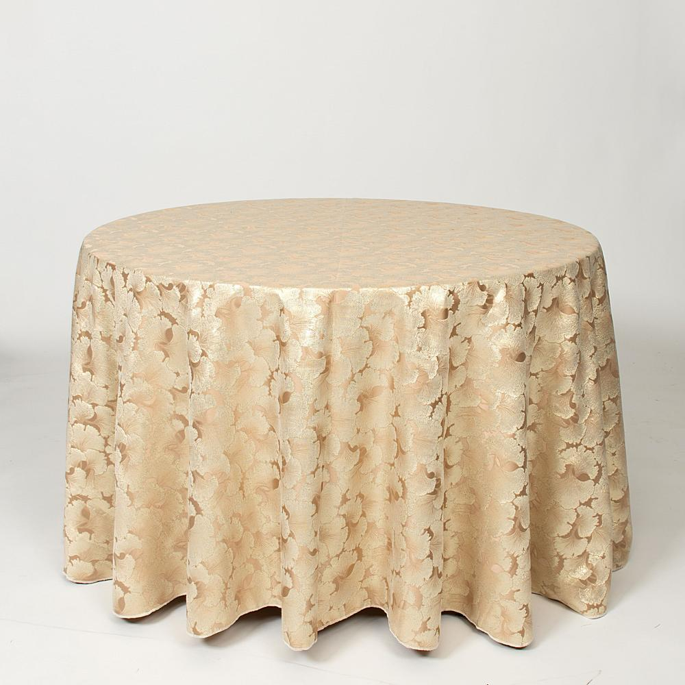 "M1126 / TAN / ""CARNATION"" 100% POLYESTER AND LUREX WOVEN JACQUARD"