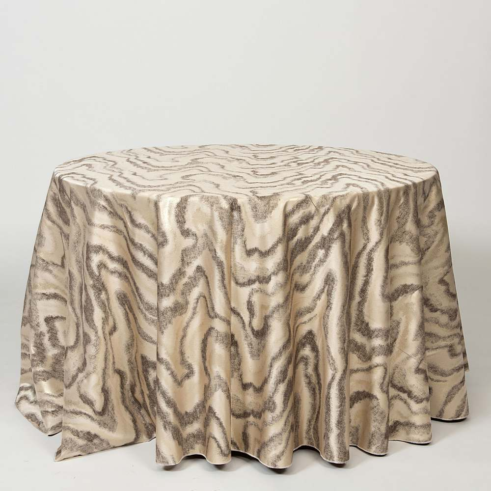 "M1127 / BRONZE / ""WAVES"" 100% POLYESTER AND LUREX WOVEN JACQUARD"