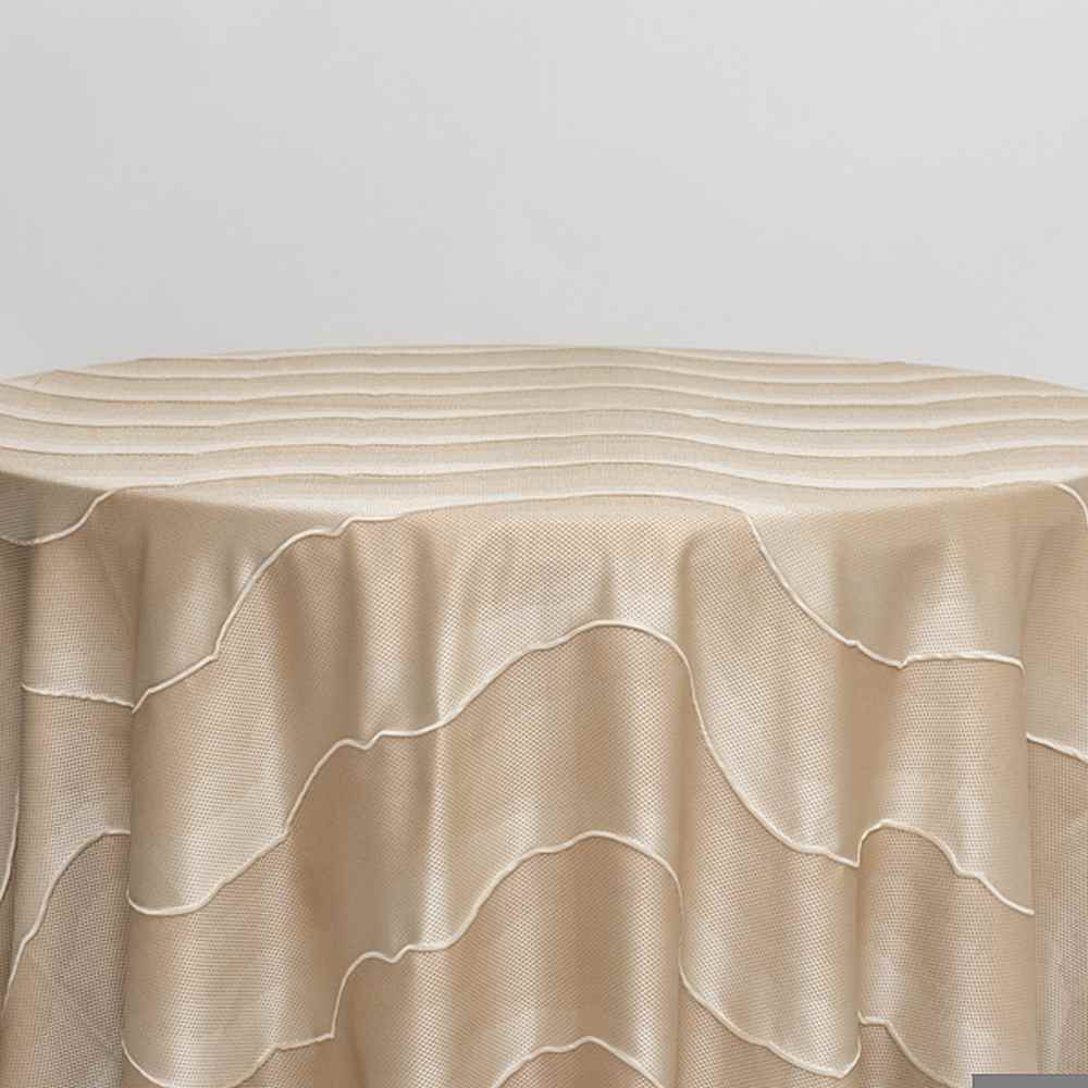 "NOV/053 / CREAM / ""LAKE"" 100% POLYESTER WOVEN JACQUARD"