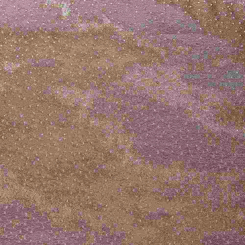 "NOV/054 / MAUVE / ""CLOUDS"" 100% POLYESTER WOVEN JACQUARD"