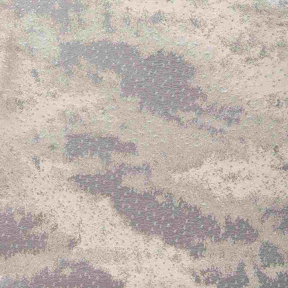 """NOV/054 / SILVER / """"CLOUDS"""" 100% POLYESTER WOVEN JACQUARD"""