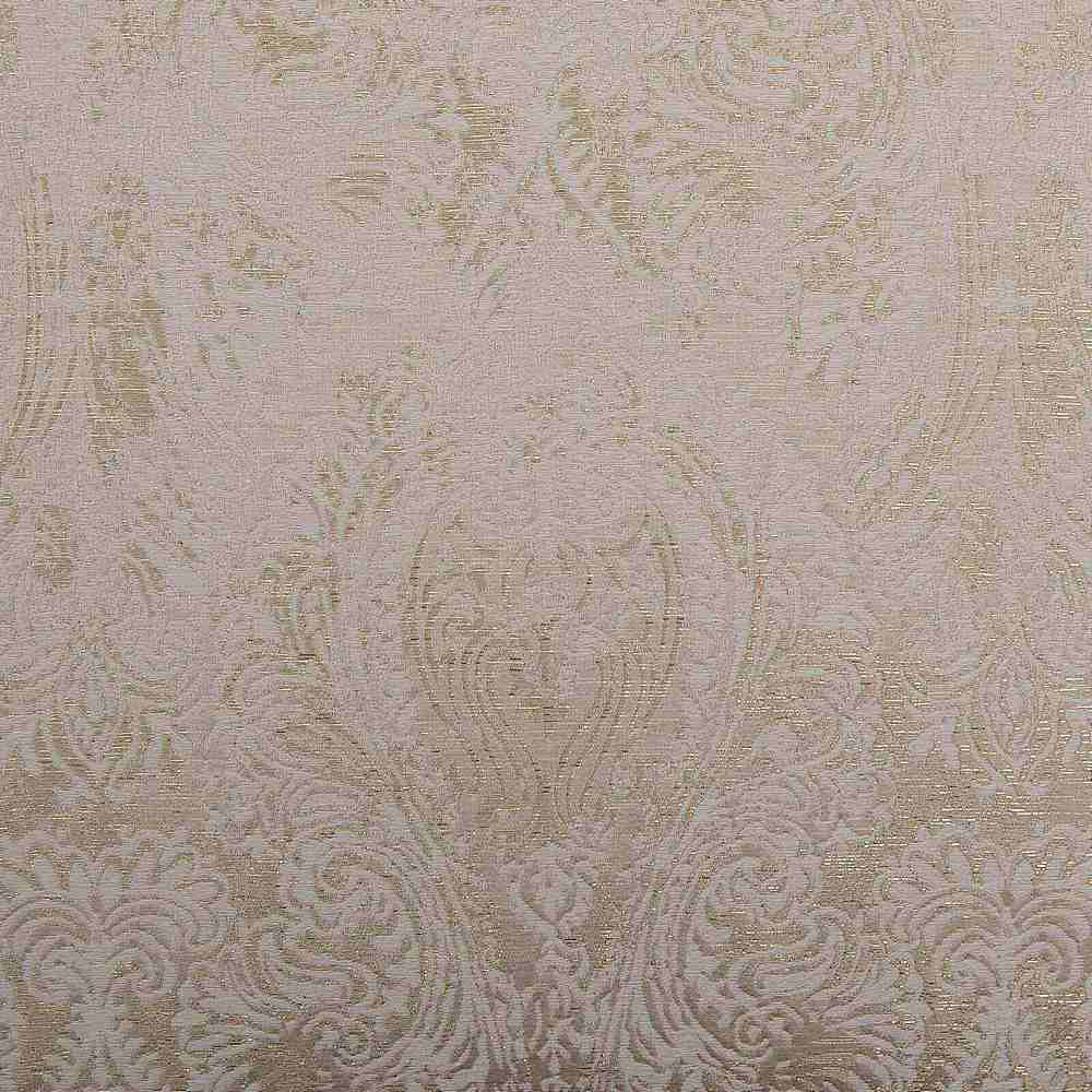 "M1135 / IVORY / ""CHIC"" 100% POLYESTER AND LUREX WOVEN JACQUARD"