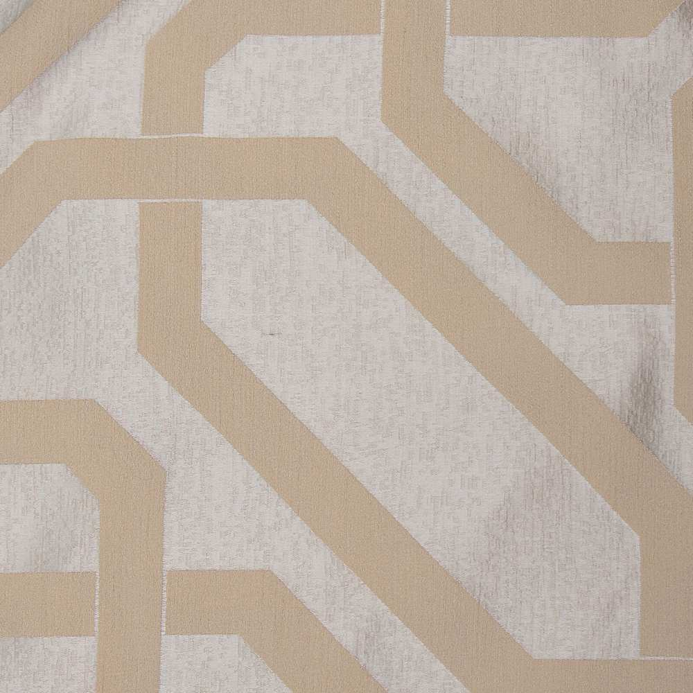 "NOV/055 / MAYONNAISE / ""SUBWAY"" 100% POLYESTER WOVEN JACQUARD"