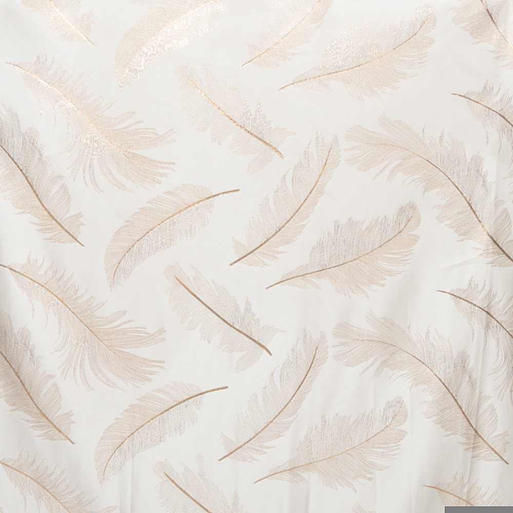 "M1147 / COPPER / ""FANTASTIC"" 100% POLYESTER & LUREX WOVEN JACQUARD"