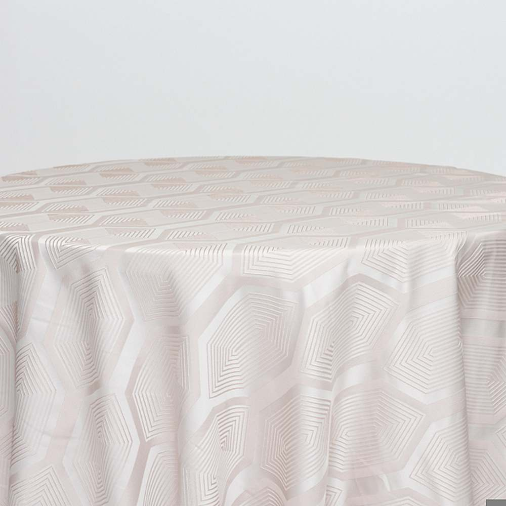 "NOV/058 / BLUSH / ""SMART"" 100% POLYESTER WOVEN JACQUARD"