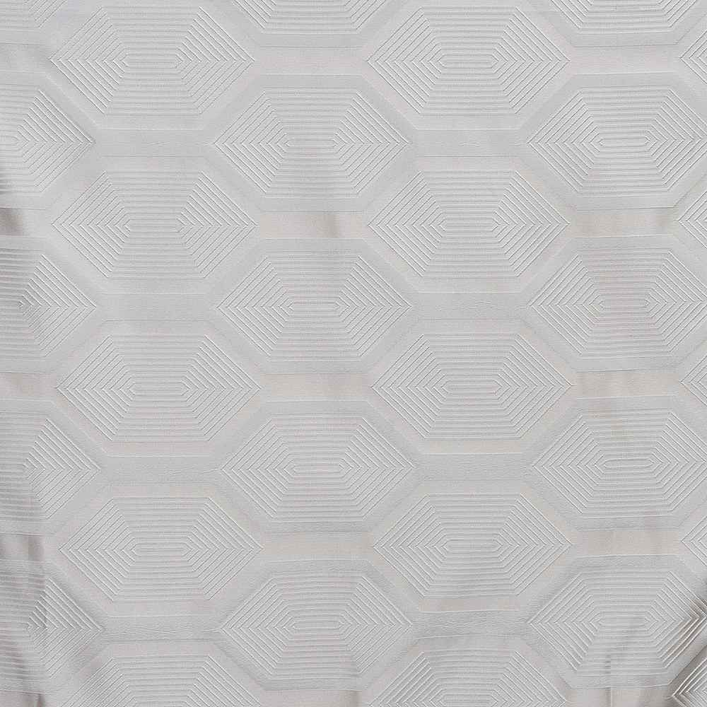 NOV/058 WHITE RESIDENTIAL GRADE JACQUARD WOVEN WHITE/OFF WHITE/CREAM/IVORY POLYESTER 100% DOUBLE WIDTH ROLL MODERN/CONTEMPORARY ETHNIC BEDDING PILLOW EVENT DECORATIVE DRAPERY