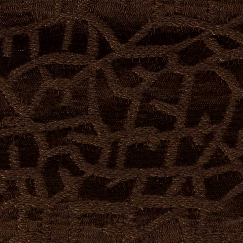 "CRAZE / CHOCOLATE / ""CRAZE"" 100% POLYESTER WOVEN JACQUARD"