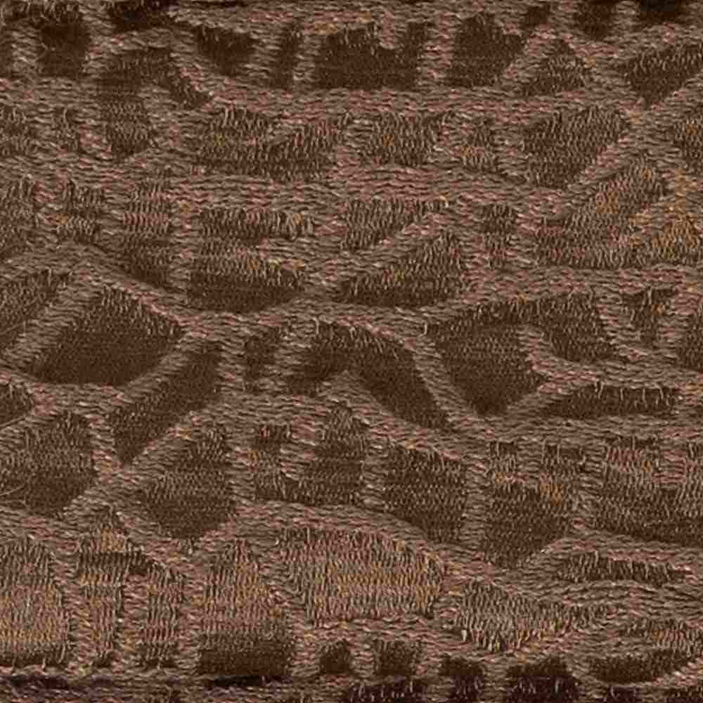 CRAZE PINEBARK RESIDENTIAL GRADE JACQUARD WOVEN NOVELTIES POLYESTER 100% SINGLE WIDTH OVER MODERN/CONTEMPORARY ETHNIC PILLOW EVENT DECORATIVE DRAPERY ABSTRACT BROWN