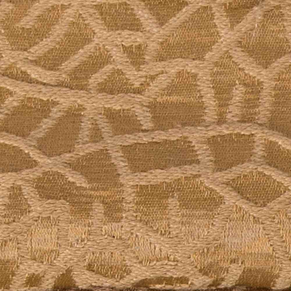 CRAZE ALMOND RESIDENTIAL GRADE JACQUARD WOVEN NOVELTIES POLYESTER 100% SINGLE WIDTH OVER MODERN/CONTEMPORARY ETHNIC PILLOW EVENT DECORATIVE DRAPERY ABSTRACT BROWN