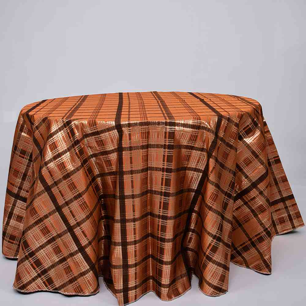 "M1152 / PUMPKIN / ""GUCCI"" 100% POLYESTER WOVEN JACQUARD AND LUREX"