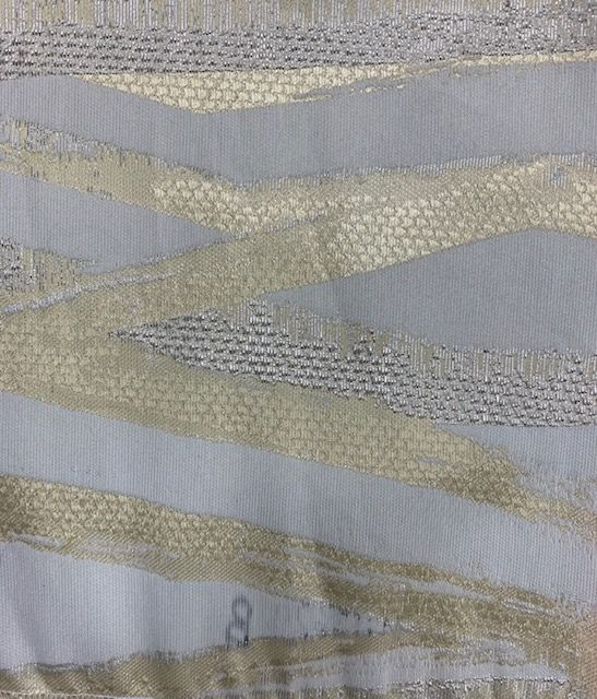 M1153 GOLD JACQUARD WOVEN METALLICS CA117-2013 POLYESTER 100% DOUBLE WIDTH ROLL MODERN/CONTEMPORARY GEOMETRIC BEDDING PILLOW EVENT DECORATIVE DRAPERY ABSTRACT