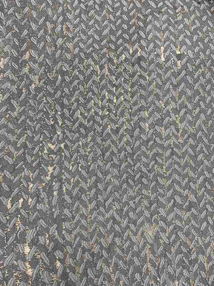 "M1157 / MIX METAL / ""FESTIVE"" 100% POLYESTER AND LUREX WOVEN JACQUARD"